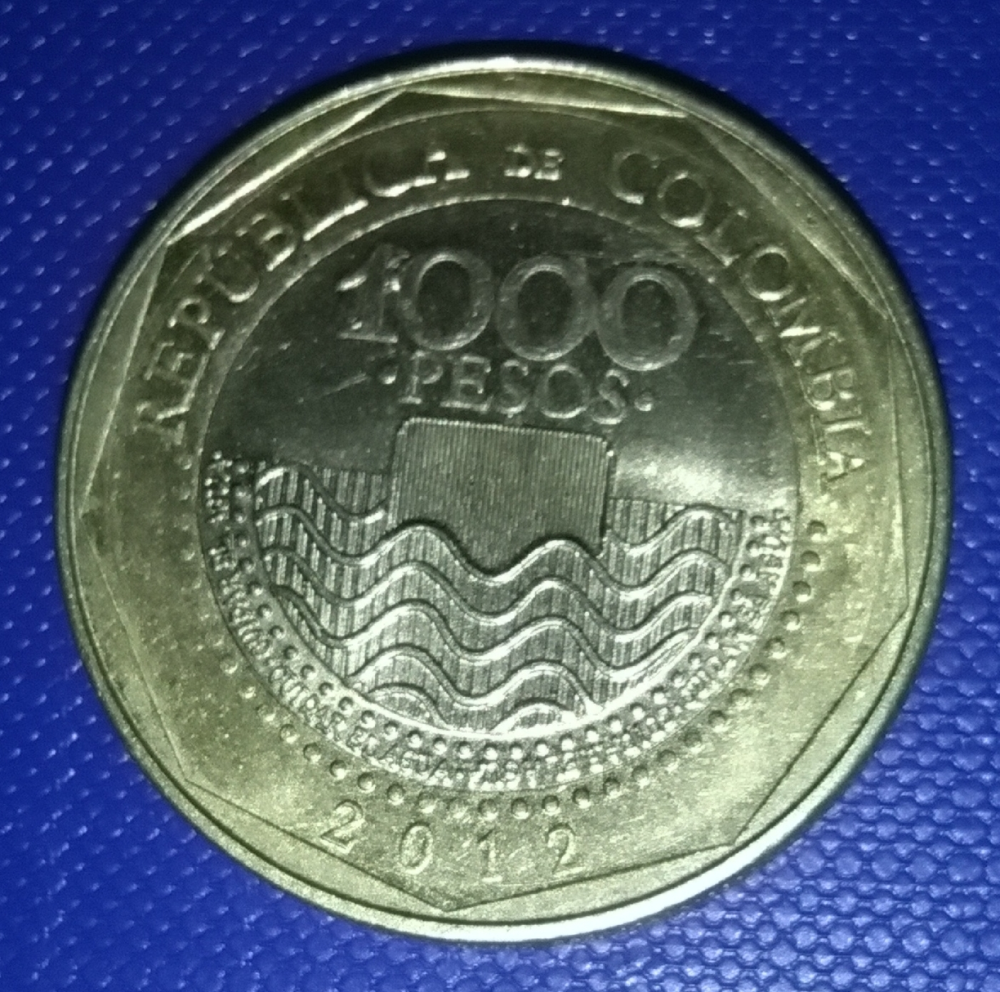 Colombia set of 4 coins 50-500 pesos 2012-2013 UNC