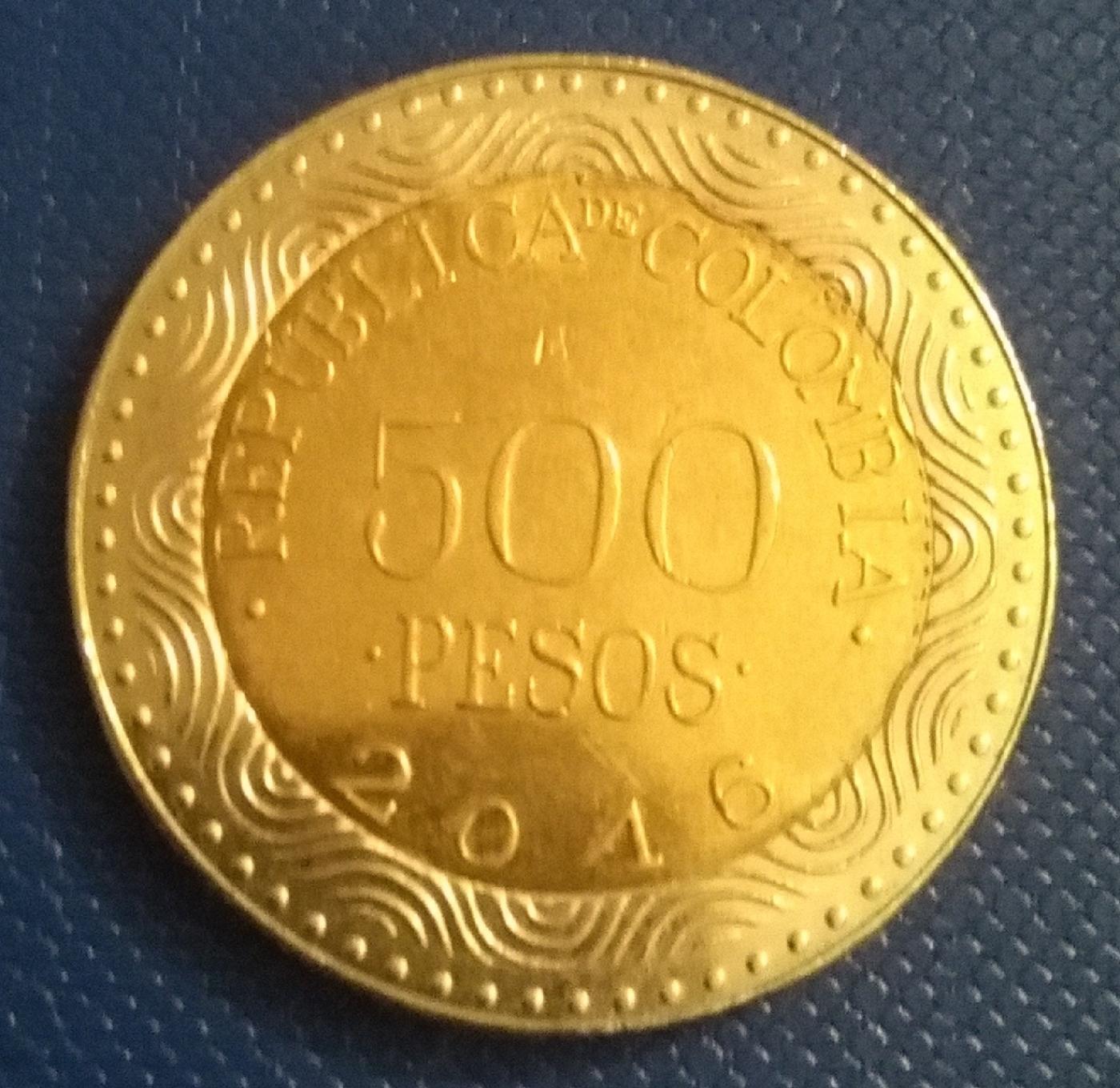 500 Pesos 2016