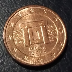 Image #2 of 1 Euro Cent 2018