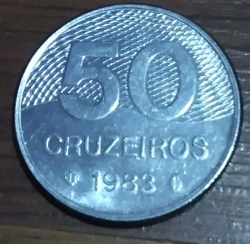 50 Cruzeiros 1983