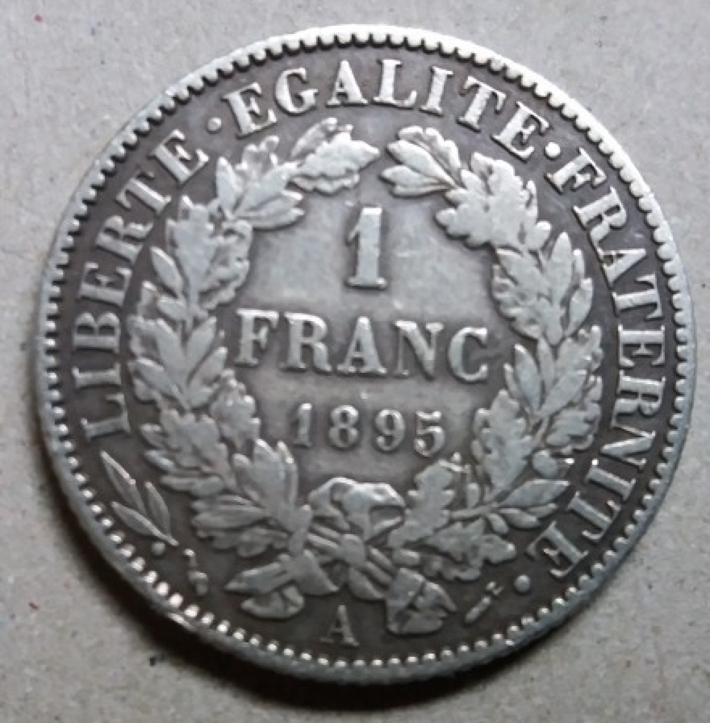 1 franc 1895 third republic 1871 1940 france coin for France francs