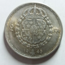 Image #2 of 2 Kronor 1946