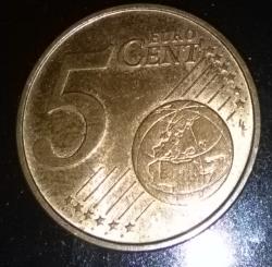 5 Euro Cent 2016