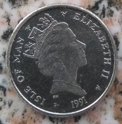 Image #2 of 5 Pence 1991 AA