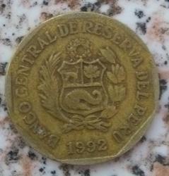 Image #2 of 20 Centimos 1992