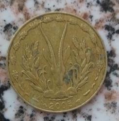 5 Francs 2005