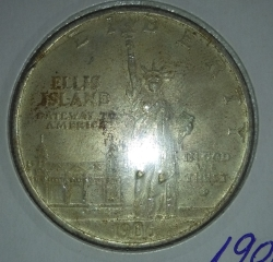 Image #1 of [COUNTERFEIT] 1 Dollar 1906