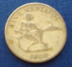 5 Centavos 1960