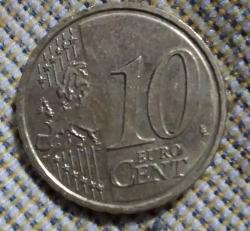 10 Euro Cent 2018