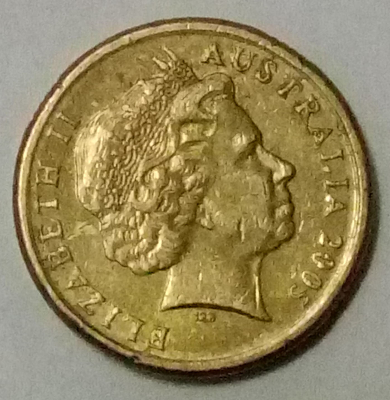 2 Dollars 2005 Elizabeth Ii 1952 Present Australia