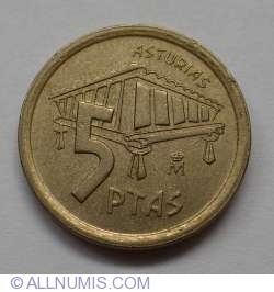 Image #1 of 5 Pesetas 1995