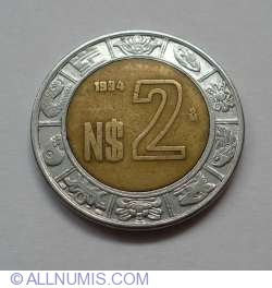 2 Nuevo Pesos 1994