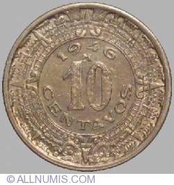 Image #1 of 10 Centavos 1946