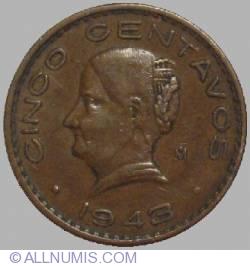 Image #1 of 5 Centavos 1943