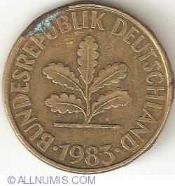 Image #2 of 10 Pfennig 1983 F
