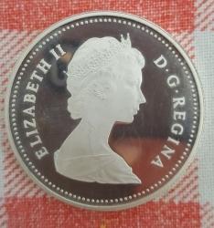 Image #2 of 1 Dollar 1981 - Trans-Canada Railway