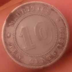 Image #2 of 10 Cents 1889 H