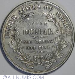 Imaginea #2 a [FANTEZIE] Trade Dollar 1872
