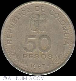 50 Pesos 1987