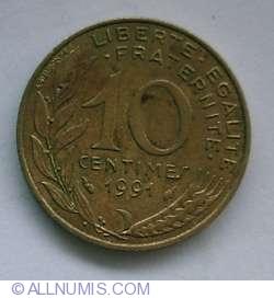 10 Centimes 1991