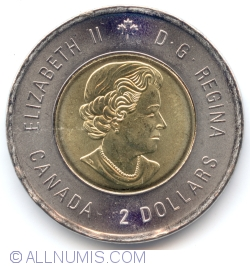 Image #1 of 2 Dollars 2015 - Sir John A. Macdonald