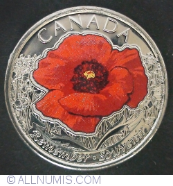 Image #2 of 25 cents 2015 Remembrance (color)