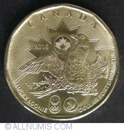 Image #2 of 1 Dollar 2016 - Olympic Lucky Loonie