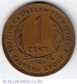 Image #2 of 1 Cent 1964