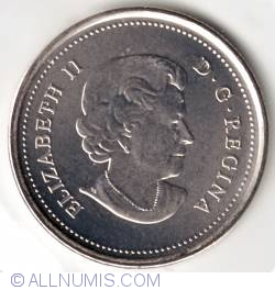 25 Cents 2011 - Perigrine Falcon