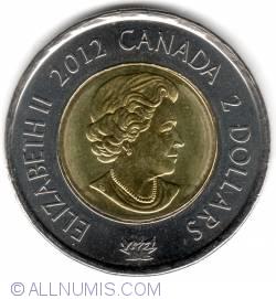 Image #1 of 2 Dollars 2012 - War Of 1812