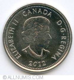 Image #1 of 25 Cents 2012 - Tecumseh