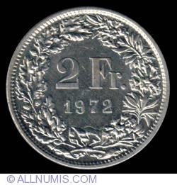 Image #2 of 2 Francs 1972