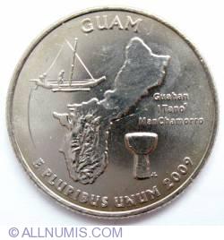 Imaginea #2 a Quarter Dollar 2009 D - Guam