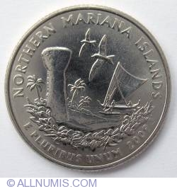Imaginea #2 a Quarter Dollar 2009 D - Northern Mariana Islands
