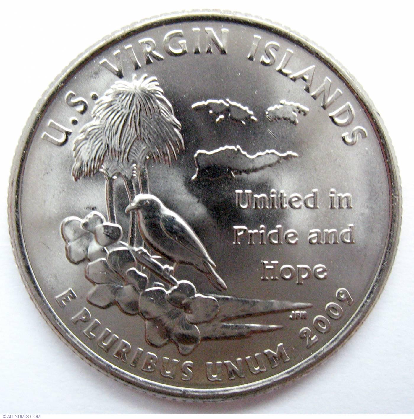 Quarter Dollarr Von Virgin Island