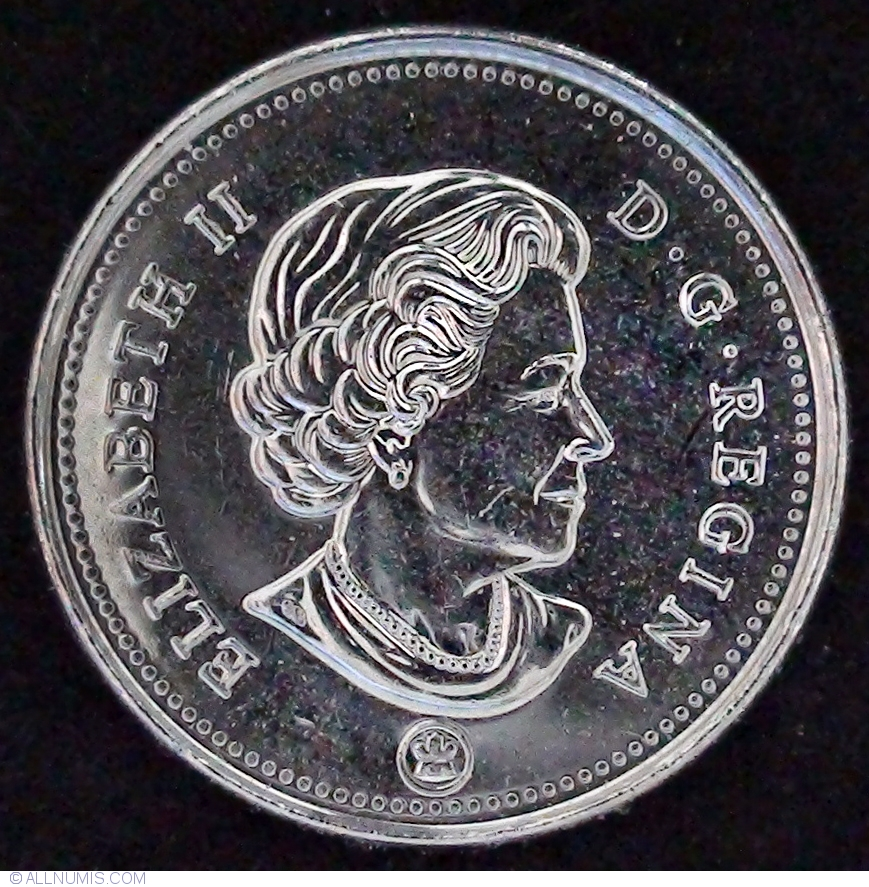 2015 CANADA 5 CENTS PROOF-LIKE NICKEL COIN