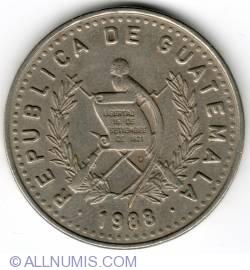 Image #1 of 25 Centavos 1988