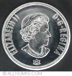 Image #1 of 10 cents 2017 150th anniversary of Canada