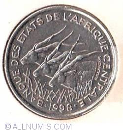 Image #1 of 50 Francs 1998