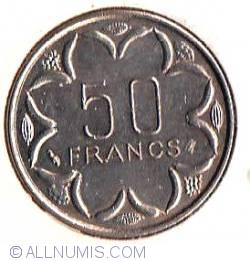 Image #2 of 50 Francs 1998