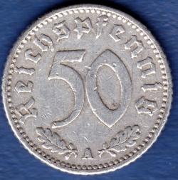 Image #1 of 50 Reichspfennig 1943 A