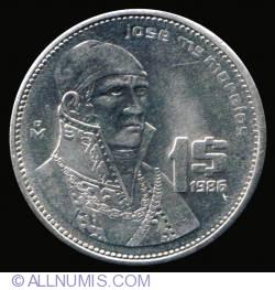 Image #2 of 1 Peso 1986