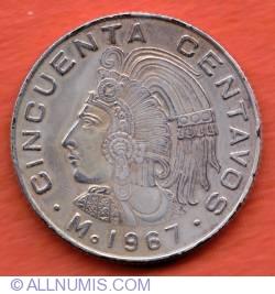Imaginea #2 a 50 Centavos 1967