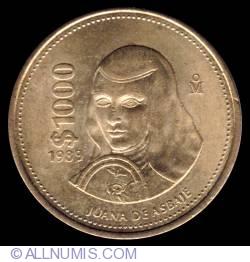 1000 Pesos 1989