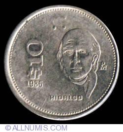 Image #2 of 10 Pesos 1986