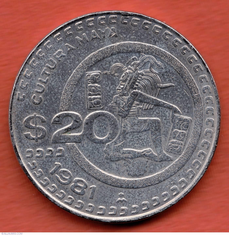 1981 20 peso coin value