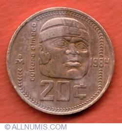 Image #2 of 20 Centavos 1984