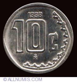 Image #2 of 10 Centavos 1998