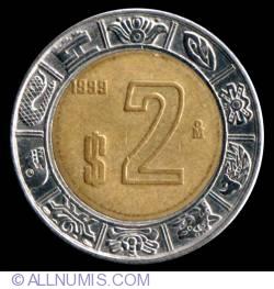 Image #2 of 2 Pesos 1999