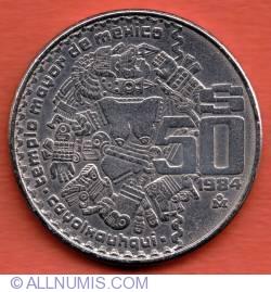 Image #2 of 50 Pesos 1984